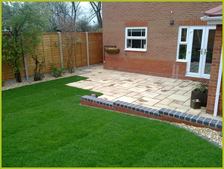 Full Garden In Bromsgrove Completed By Redditch Based Landscapers/Landscape Gardeners : Advanscape