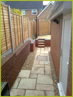 Fencing In Bromsgrove Completed By Redditch Based Landscape Gardeners : Advanscape