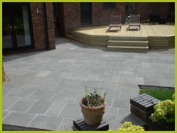 Landscaping Patio Installation In Redditch