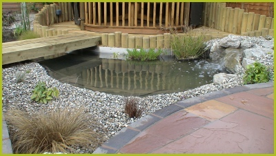 Pond & Waterfall Installation In Studley